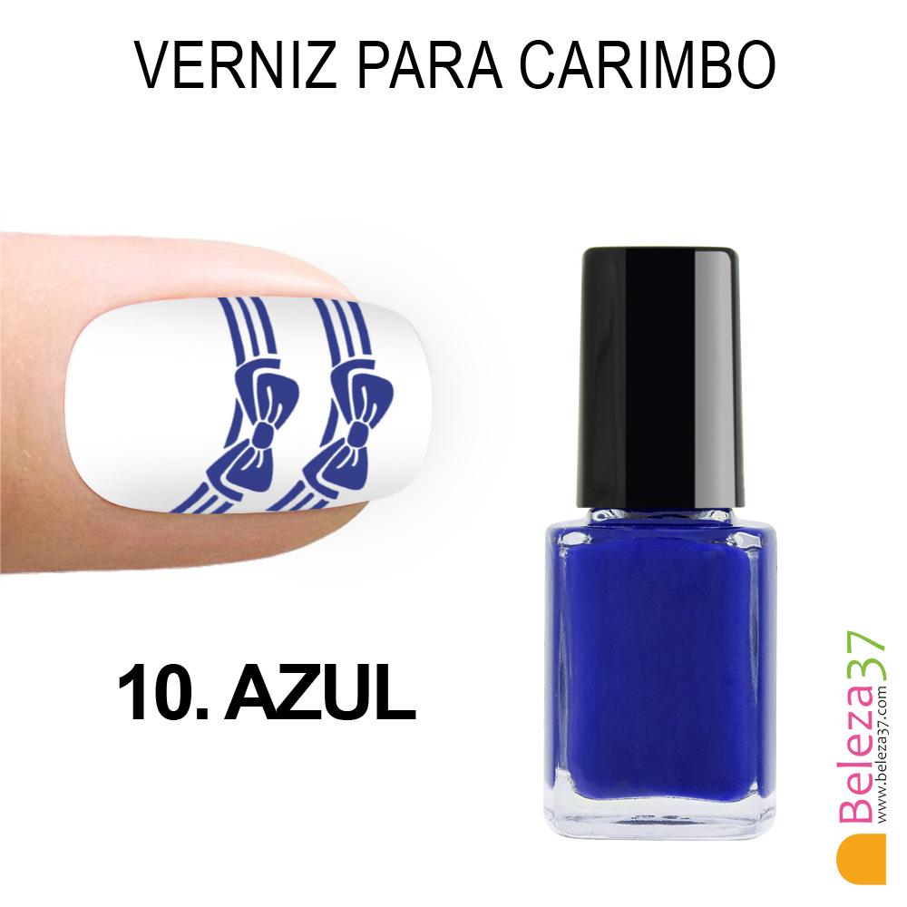 Verniz para carimbo - 10. AZUL