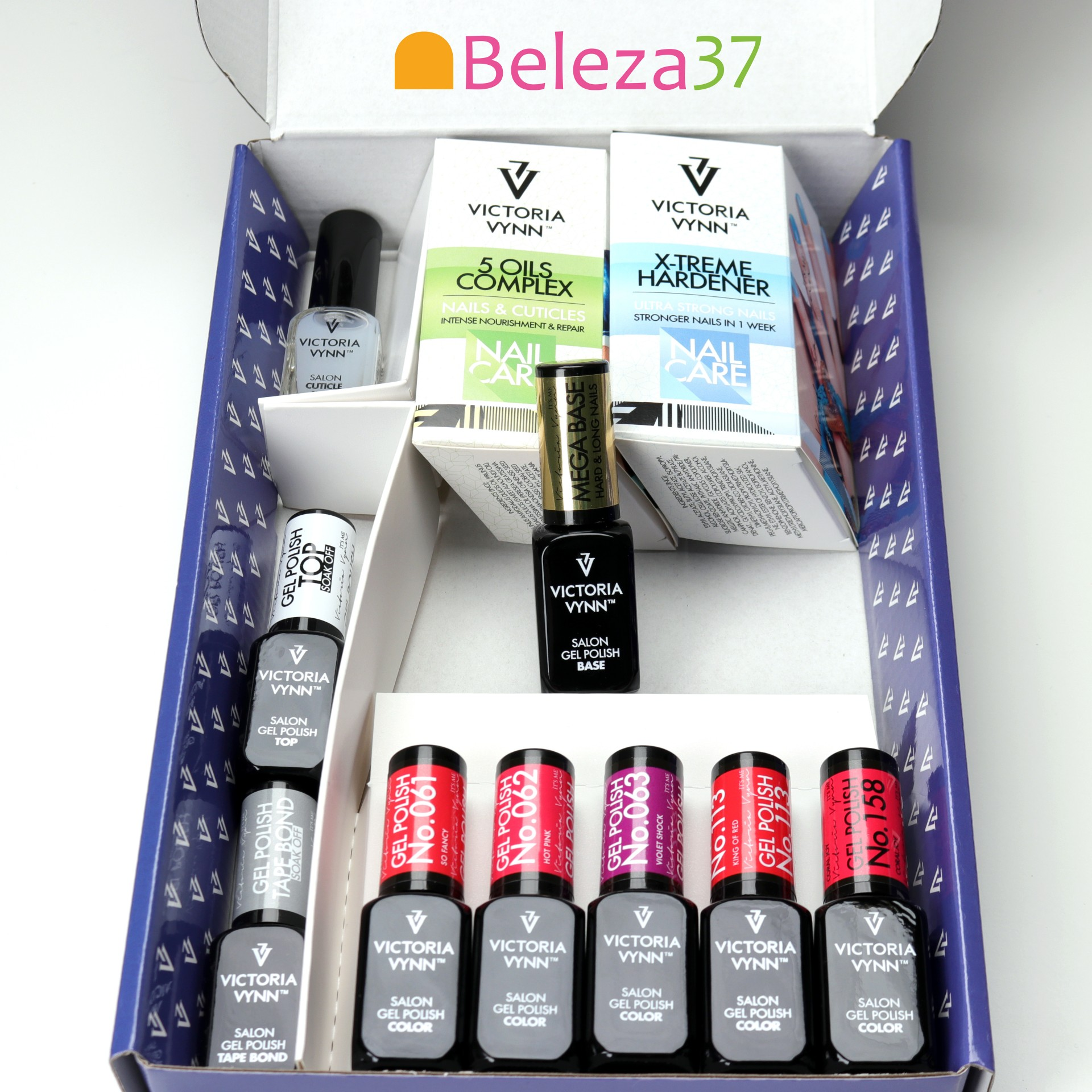 KIT Gel Polish VV com Mega Base