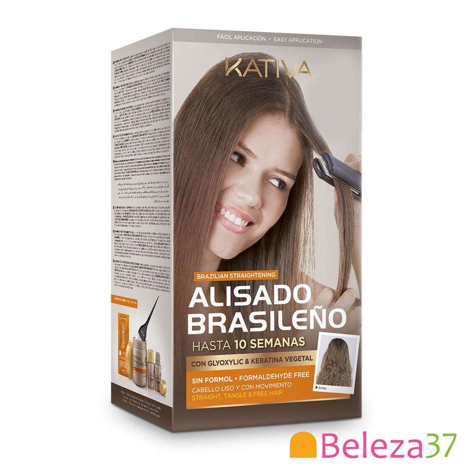 Kativa - Kit ALISAMENTO BRASILEIRO para FAZER EM CASA 150ml