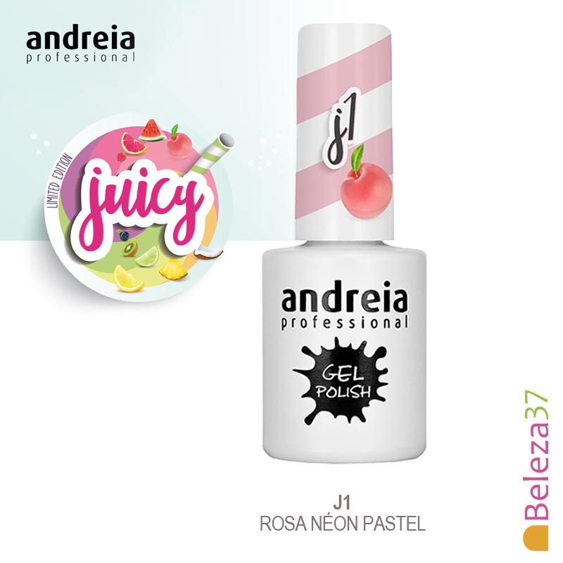 """Verniz Gel Andreia – 6 Cores da Coleção """"Juicy"""""""