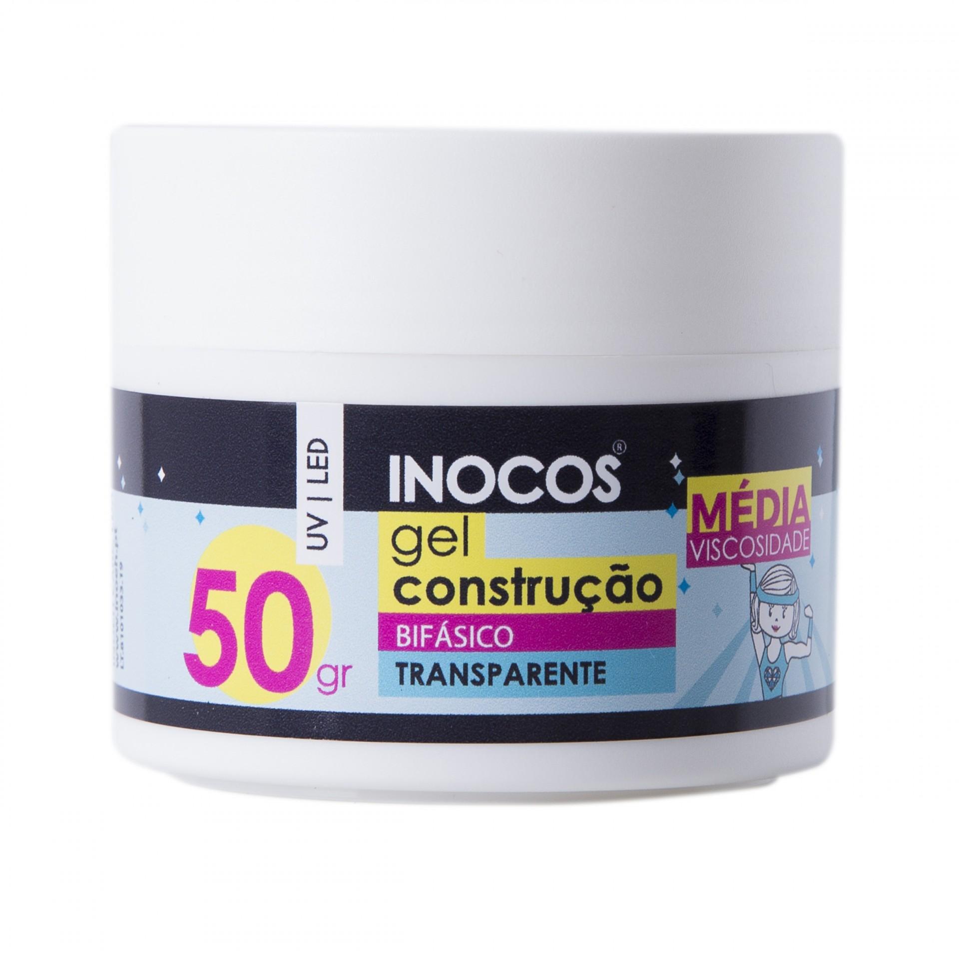 Gel Construção Inocos Média Viscosidade - Transparente 50g