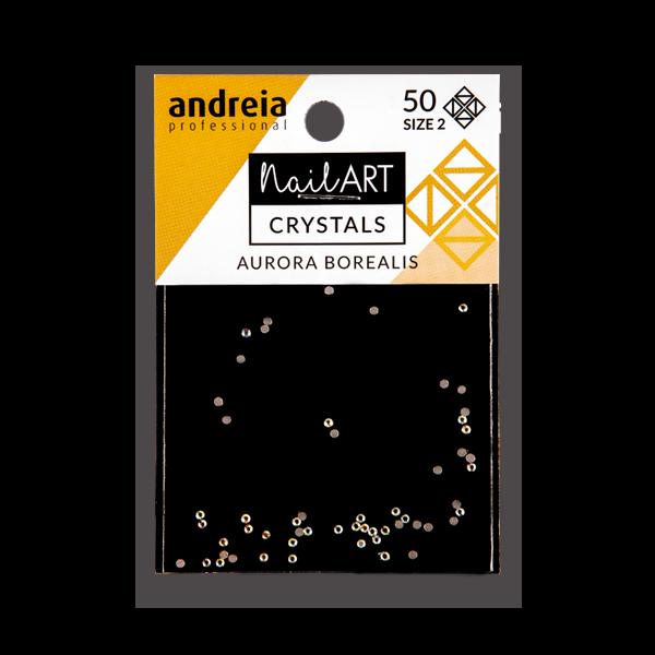 Crystals Andreia 50pcs - Aurora Borealis 2