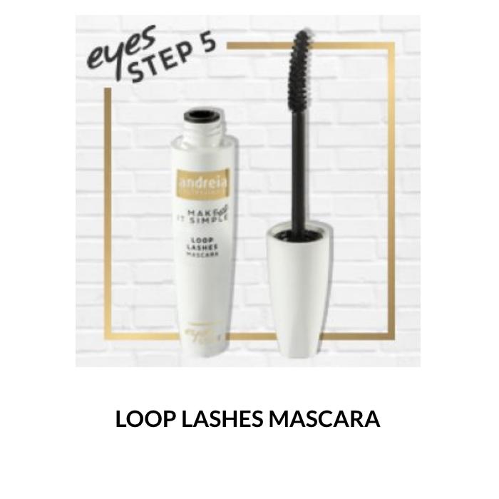 Andreia Eyes 5 - LOOP LASHES - Mascara