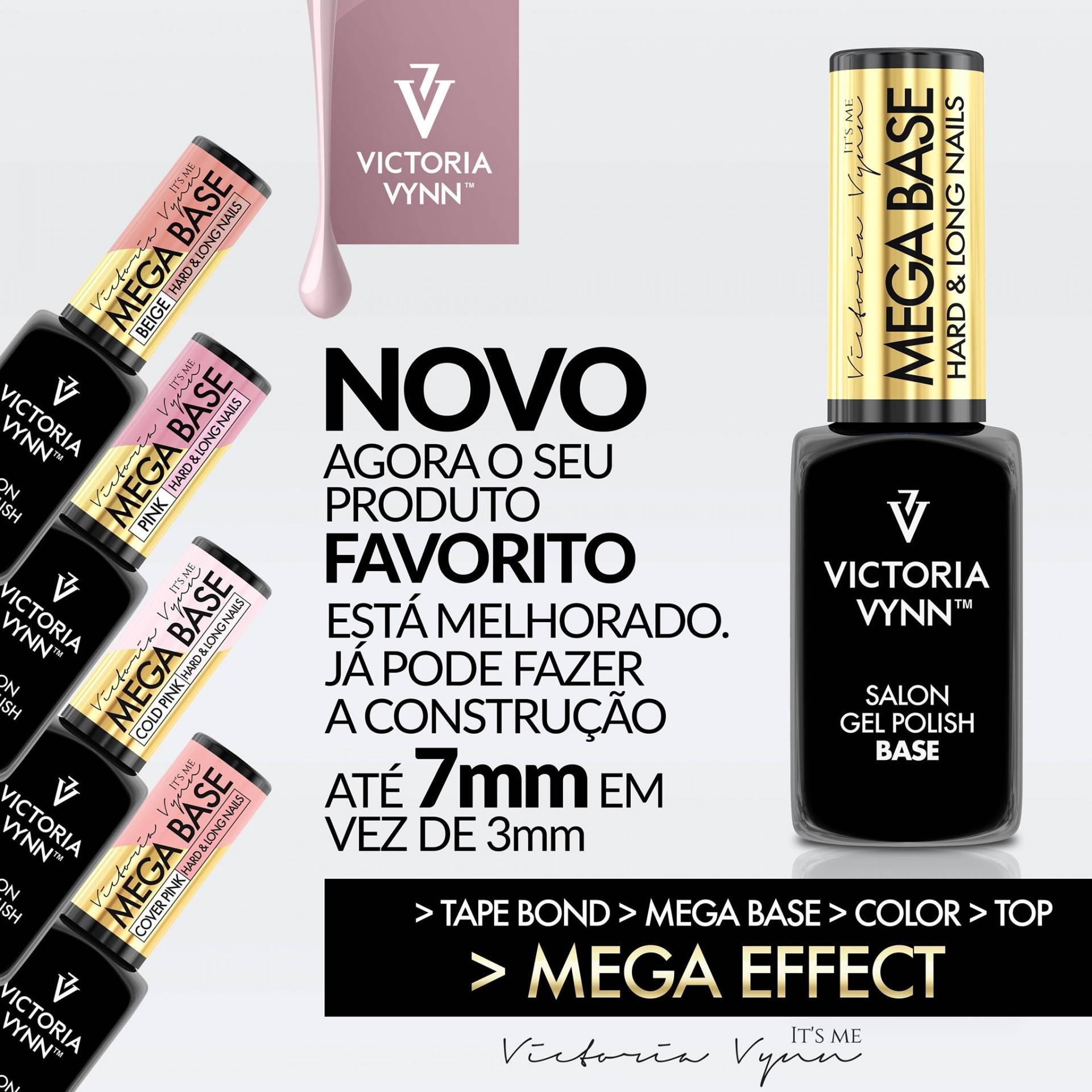 Mega Base Transparente da Victoria Vynn - Nova Fórmula