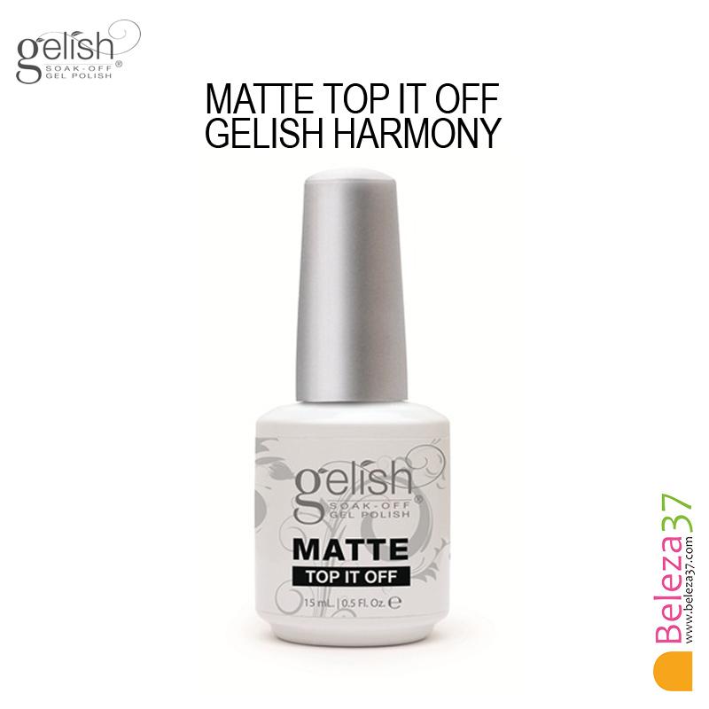 Matte Top It Off - Gelish Harmony