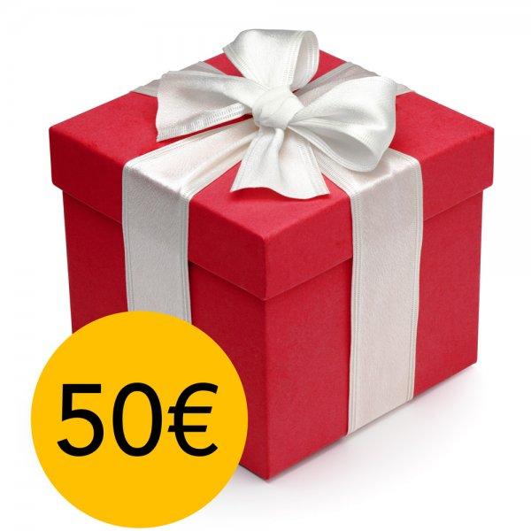 Compre por 25€ e Leve 50€ em Produtos Surpresa