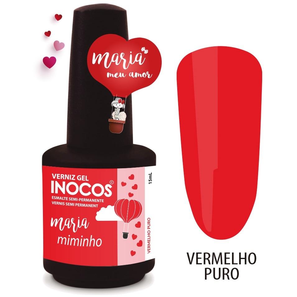 Verniz Gel Inocos – 301 - Maria Miminho 15ml