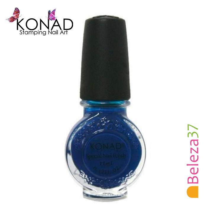 Verniz para Carimbo Konad 11ml - Blue (Azul)