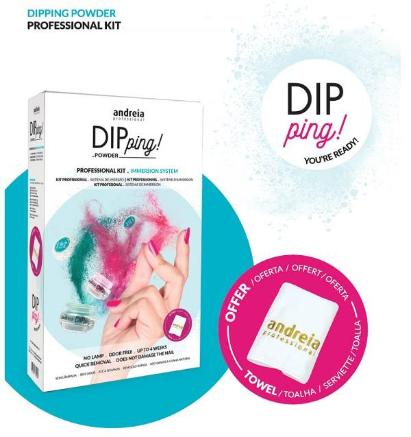 Kit Dipping Powder Andreia