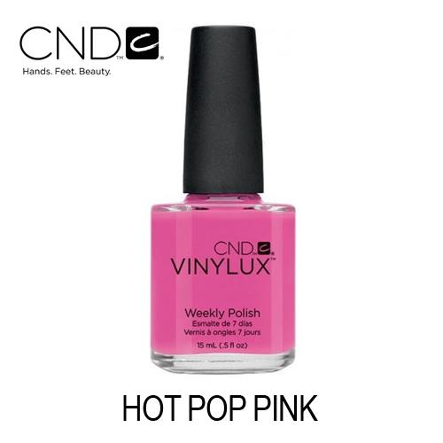 CND Vinylux – #121 Hot Pop Pink