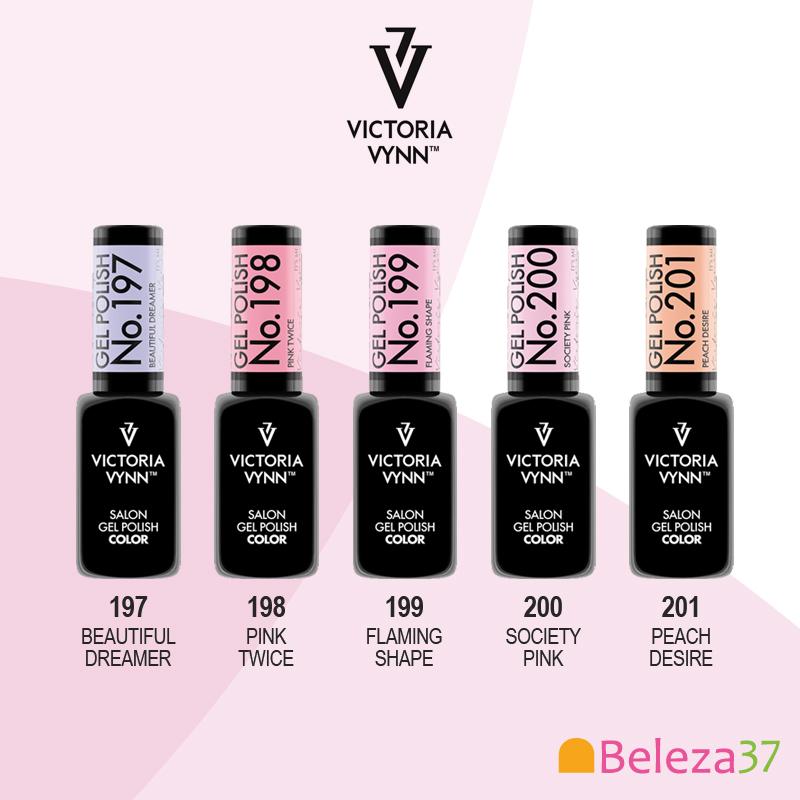 Verniz Gel - Coleção Verão 2018 - Cores Victoria Vynn do 197 ao 201