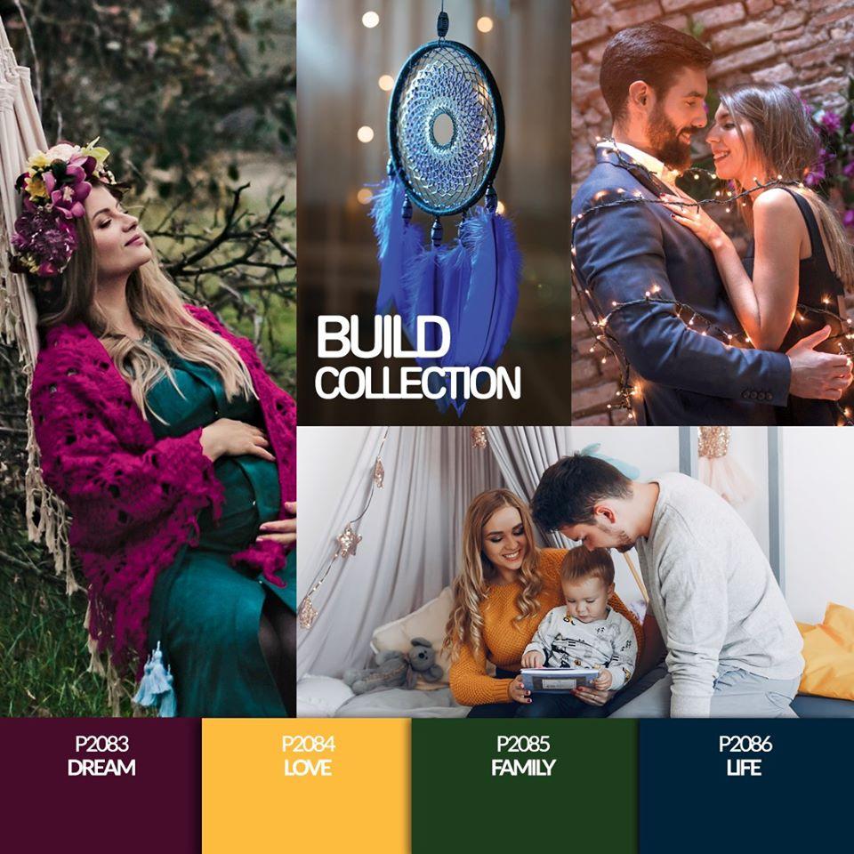 Coleção Verniz Gel PURPLE – Build Collection (P2083 ao P2086)