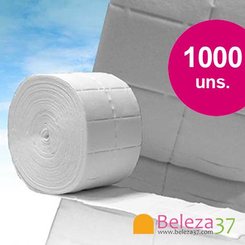 1000 Compressas Removedoras de Verniz