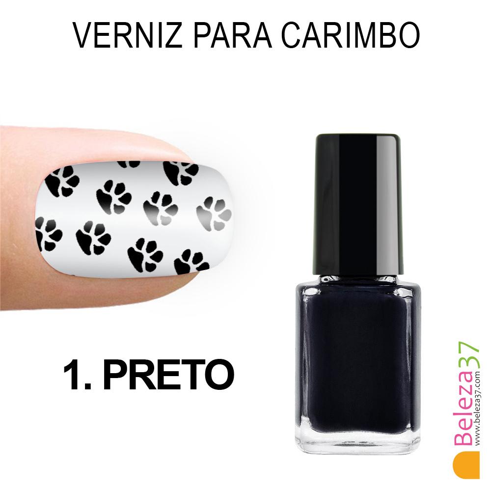 Verniz para Carimbo - 1. PRETO