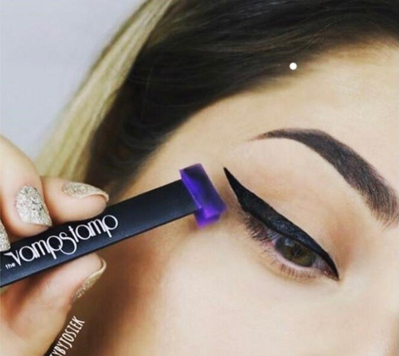 Vamp Stamp - Carimbo para Eyeliner (Tamanho Largo)