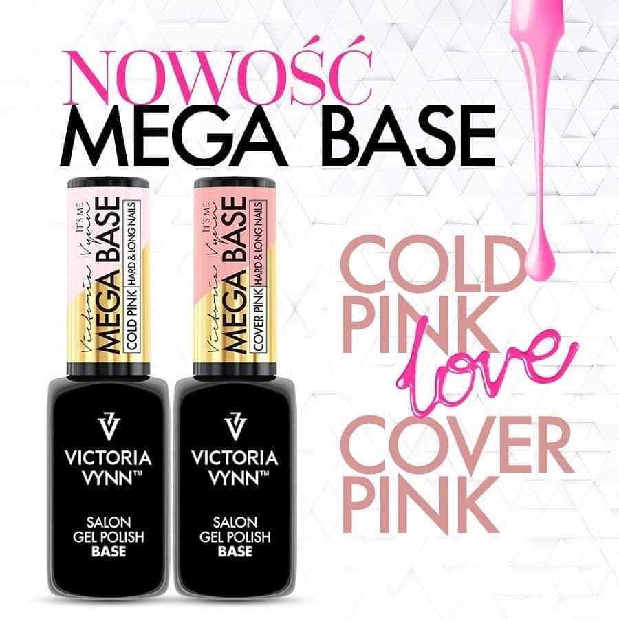 Mega Base Cover Pink + Mega Base Cold Pink
