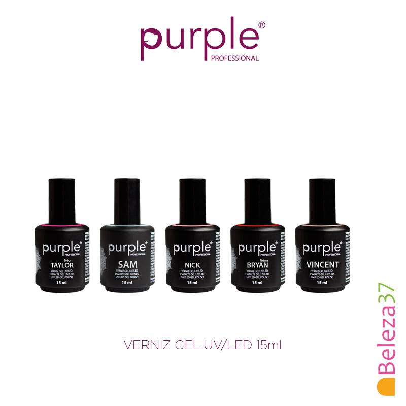 Verniz Gel UV/LED 15ml – Coleção PURPLE Primavera 2018