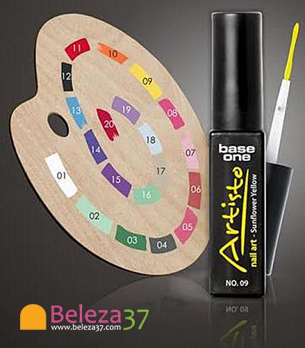 Paint Gel ARTISTO com Pincel para Nail Art