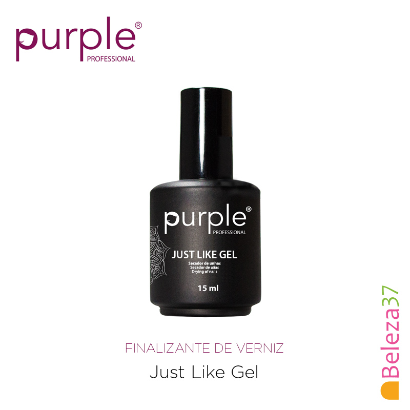 Just Like Gel Purple 15ml - Finalizante de Verniz