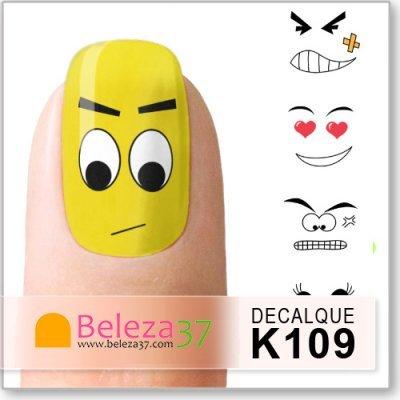 Decalques com Expressões Faciais (K109)