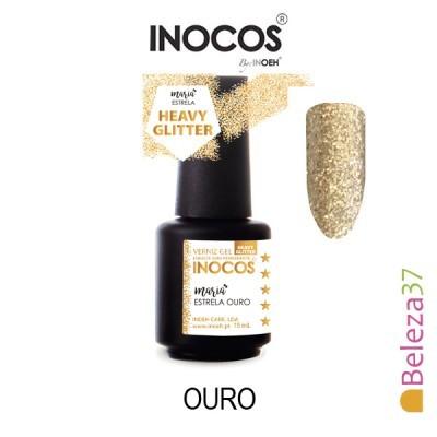Verniz Gel Inocos -132 - Maria Estrela Ouro