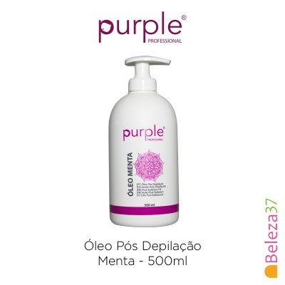 Óleo Pós Depilação Menta Purple 500ml