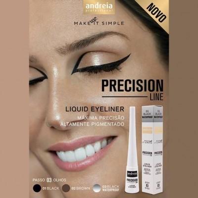 Andreia Eyes 3 - PRECISION LINE - Liquid Eyeliner