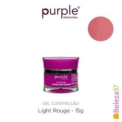 Gel Construtor Purple Gel Cover Light Rouge 15g