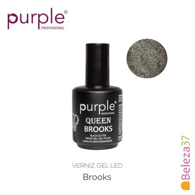 Verniz Gel UV/LED 15ml PURPLE 634 – BROOKS (Linha Queen)