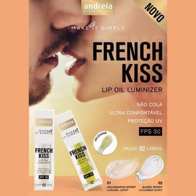Andreia Lips 2 - FRENCH KISS - Lip Oil Luminizer