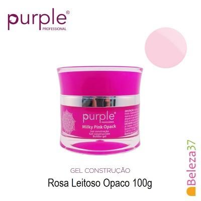 Gel Construtor Purple Milky Pink Opack – Rosa Leitoso Opaco 100g