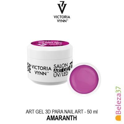 Art Gel 3D para Nail Art Victoria Vynn - 04 - Creamy Amaranth