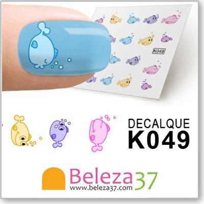 Decalques dos Peixinhos (K049)
