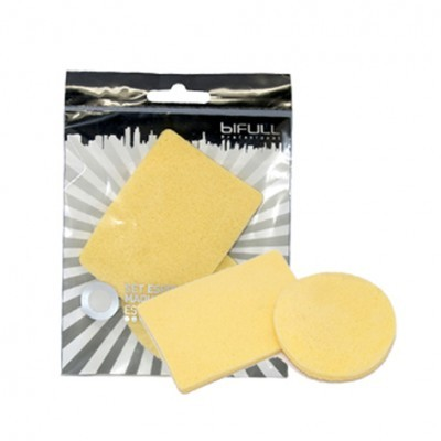 Conjunto de 2 Esponjas de Maquilhagem Bifull