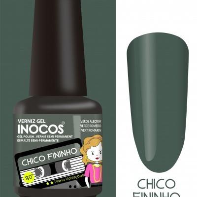 Verniz Gel Inocos – Chico Fininho (Verde Alecrim)
