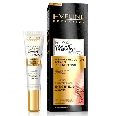 Creme e de Olhos Royal Caviar Therapy Eye & Eyelid