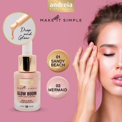 Andreia Face 9 - GLOW BOOM - Drop Highlighter