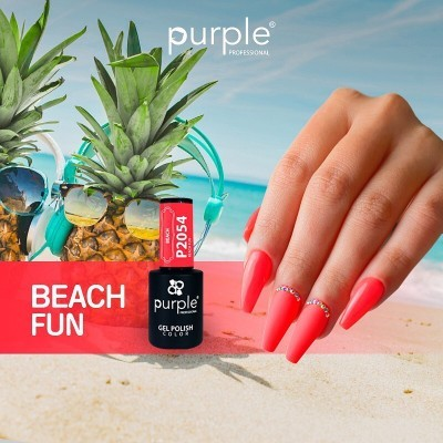 Verniz Gel PURPLE P2054 – Beach Fun