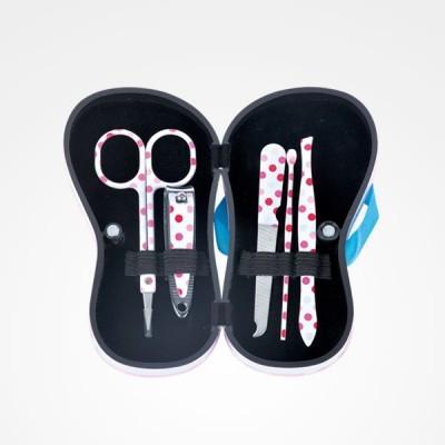 Kit de manicura Flip Flop com 5 peças - Bolas