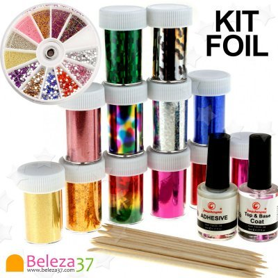 Kit Completo de Foil Holográfico