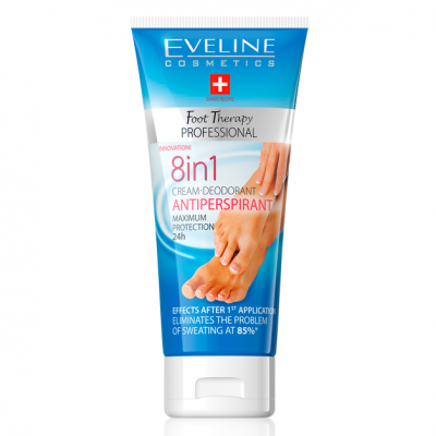 Creme de Pés Eveline Foot Therapy 8in1 Antiperspirant 100ml