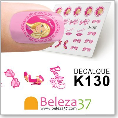 Decalques da Barbie (K130)