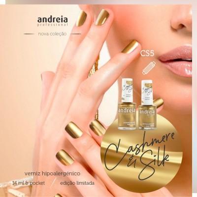 Verniz Andreia CS5 (tom metalizado)
