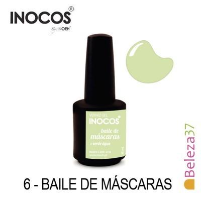 Verniz Gel Inocos 6 — Baile de Máscaras (Verde Água)