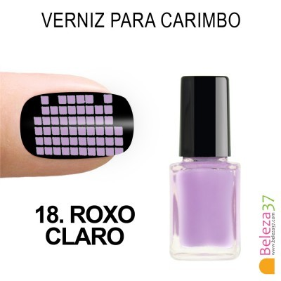 Verniz para Carimbo - 18. ROXO CLARO