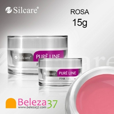 Gel de Construção Pure Line – Rosa Leitoso 15g