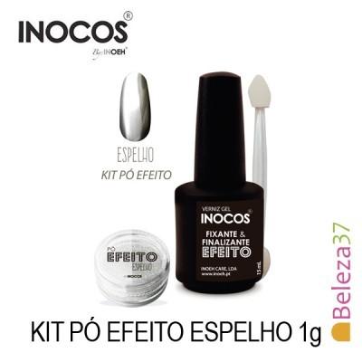 Inocos — Kit Pó Efeito Espelho 1g