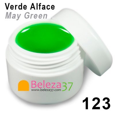 GEL DE COR 123 – Verde Alface (May Green)