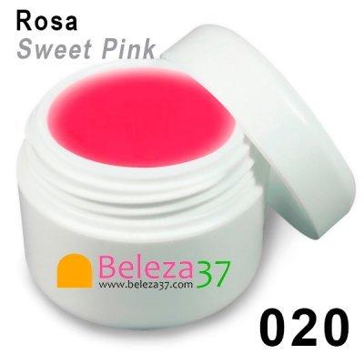 Gel de Cor 020 – Rosa (Sweet Pink)