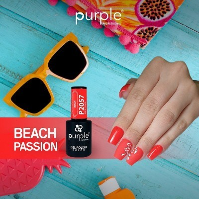 Verniz Gel PURPLE P2057 – Beach Passion